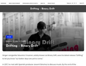 Drifting – Binary Drift