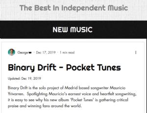Binary Drift – Pocket Tunes