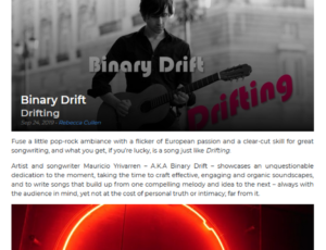 Stereo Stickman / Review of 'Drifting'
