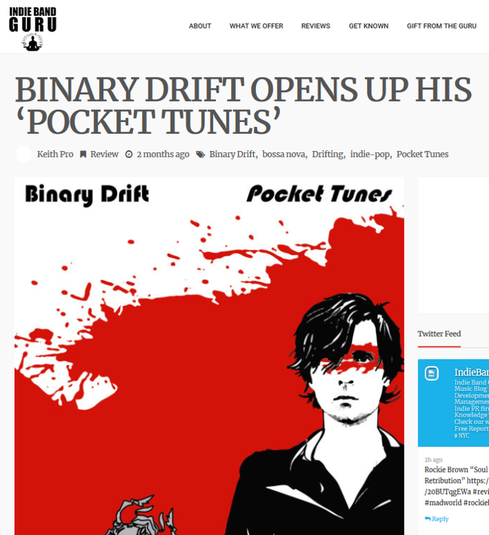 Binary Drift Opens Up His 'Pocket Tunes'